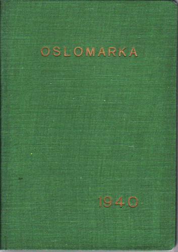 OSLOMARKA.  Håndbok for friluftsfolk.