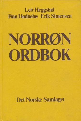 Norrøn ordbok.
