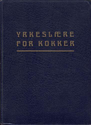 YRKESLÆRE FOR KOKKER.