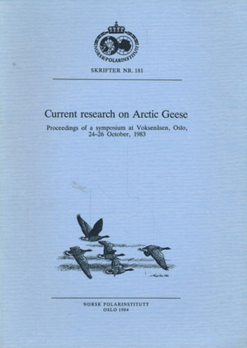 CURRENT RESEARCH ON ARCTIC GEESE.