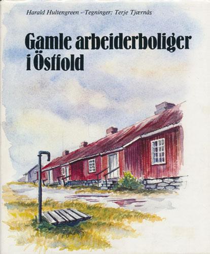 Gamle arbeiderboliger i Östfold.