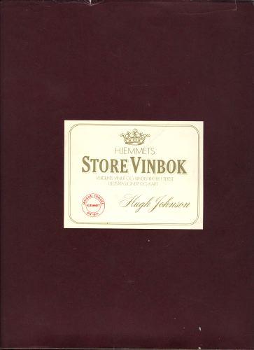 Hjemmets store vinbok. Verdens viner og vindistrikter i tekst, illustrasjoner og kart.