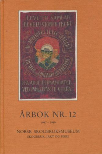 NORSK SKOGBRUKSMUSEUM ÅRBOK NR. 12.