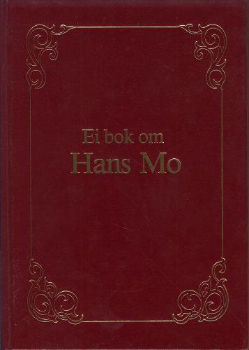 Ei bok om Hans Mo.