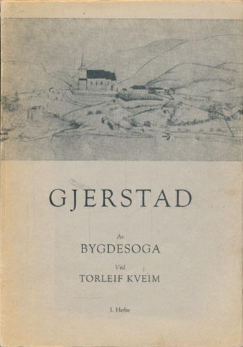 Gjerstad. Av bygdesoga. 1.