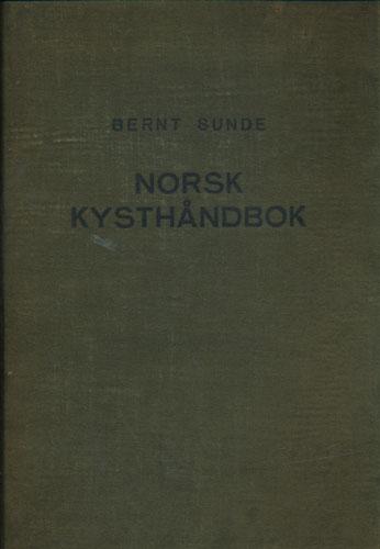 Norsk kysthåndbok med kurs- og kystbeskrivelser, sjøkartskisser, seilstreker og havneorientering for den norske kyst.