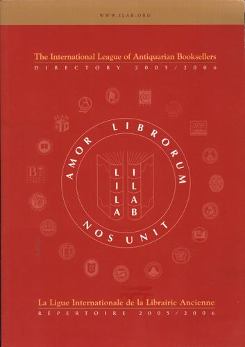 INTERNATIONAL DIRECTORY OF ANTIQUARIAN BOOKSELLERS 2005/2006.