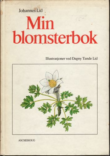 Min blomsterbok.