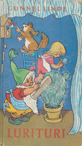Lurituri. Omslag og illustrasjoner av Iben Clante. Musikk av Lasse Eriksson.