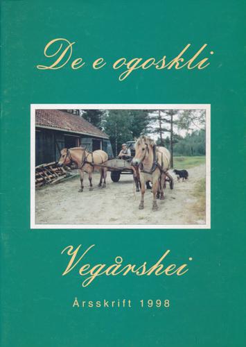 DE E OGOSKLI.  Årsskrift frå Vegårshei.