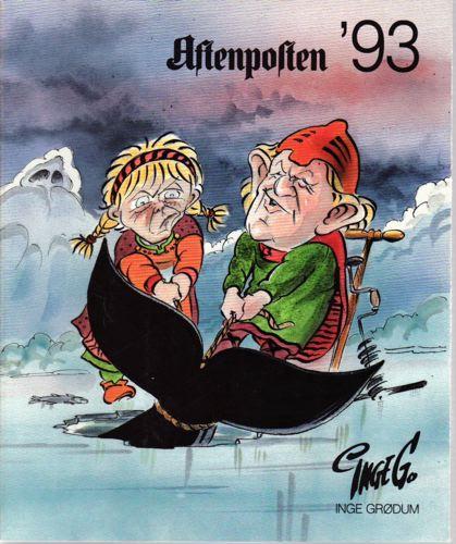 Aftenposten '93. Utgitt av Aftenposten.