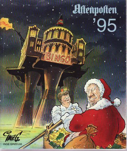 Aftenposten '95. Utgitt av Aftenposten.