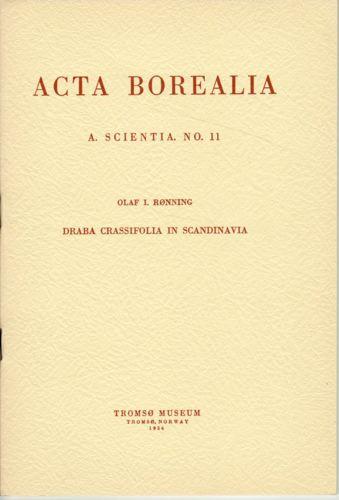 Draba crassifolia in Scandinavia.