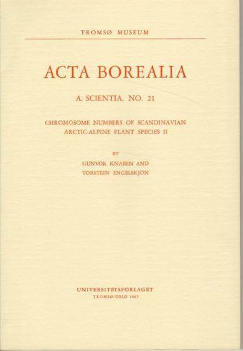 Cromosome numbers of Scandinavian arctic-alpine plant species II.