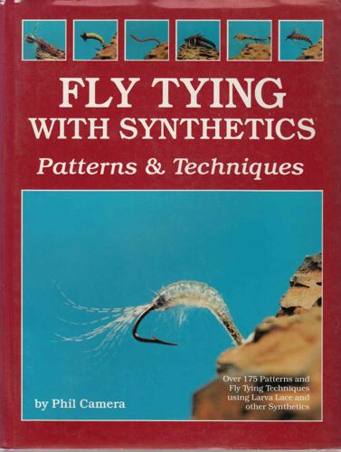 (FLUEFISKE) Fly tying, with synthetics Patterns & Techniques.
