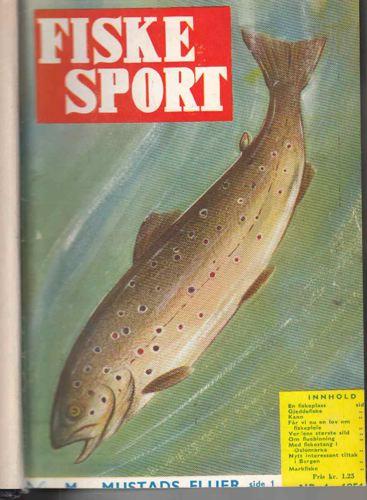 FISKESPORT.  Redaktør Aage Rygh. Organ for Norges sportsfiskerforbund.
