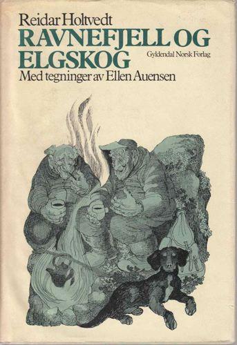 Ravnefjell og elgskog.