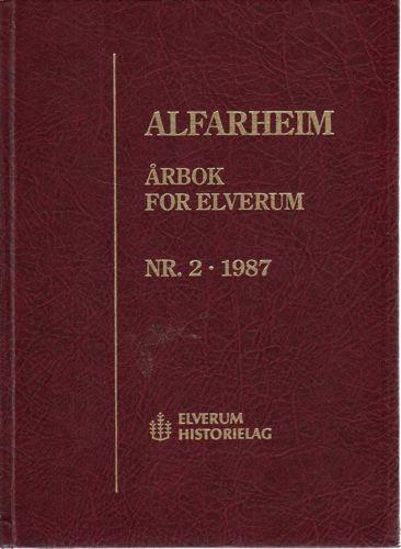 ALFARHEIM.  Årbok for Elverum.