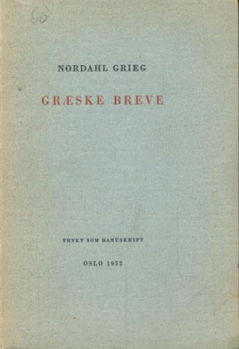 Græske Breve.