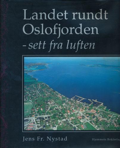 Landet rundt Oslofjorden - sett fra luften.