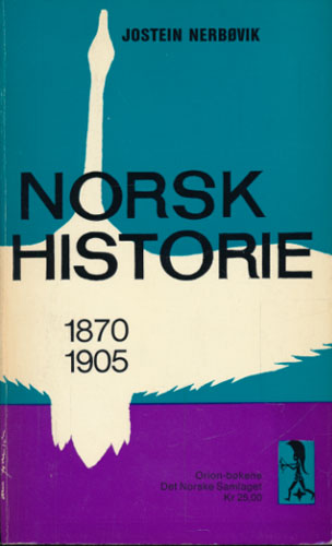 Norsk historie 1870-1905.