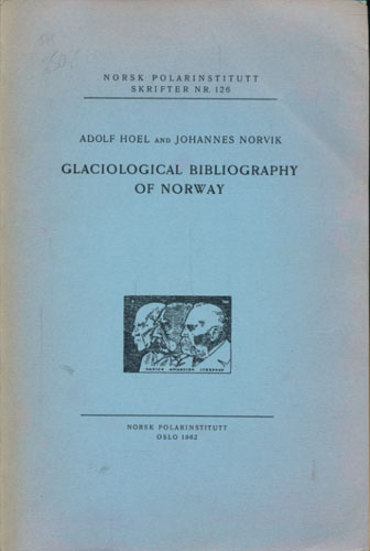 Glaciological Bibliography of Norway.