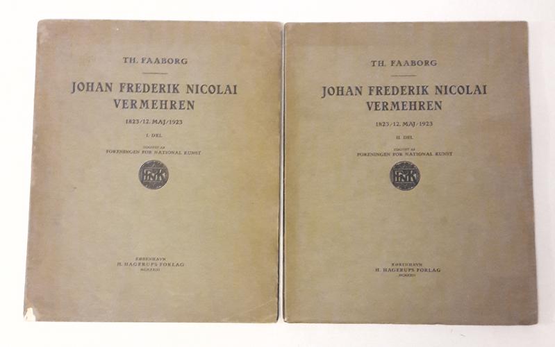 (VERMEHREN, J.F.N.) Johan Frederik Nicolai Vermehren 1823 / 12. Maj / 1923.