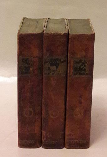 (HORATS) Vorlesungen über die klassischen Dichter der Römer. Erster Band, welcher Vorlesungen über die Oden des Horaz enthalt. Zweiter Band, welcher das vierte und fünfte Buch der Oden, und das erste Buch der Satyren des Horaz enthalt. Dritter Band, welcher die Vorlesungen über das zweyte Buch der Satyren, und das erste Buch der Episteln enthält.