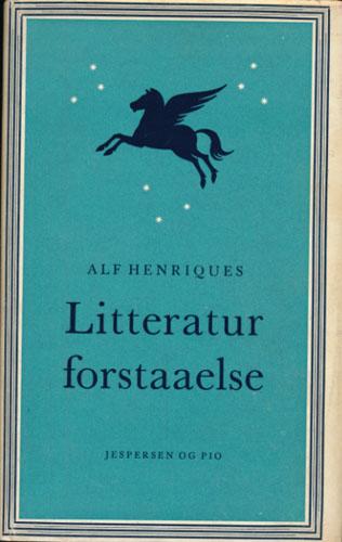 Littaraturforstaaelse. En Bog om Kunsten at Læse.