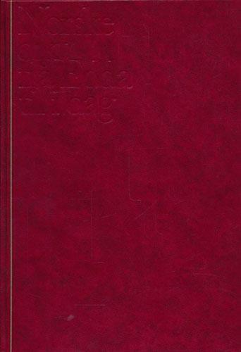 NORSKE DIKT FRÅ EDDA TIL I DAG.  En nynorsk antologi redigert av Bjarte Birkeland, Johs. A. Dale, Erling Nielsen og Halldis Moren Vesaas.