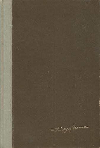 (NANSEN, FRIDTJOF) Fridtjof Nansen. Norsk utgave ved Liv Nansen Høyer.