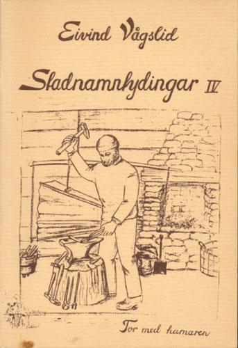 Stadnamntydingar IV med nye tydingar til ord og namn.