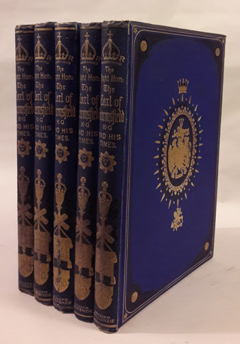 (DISRAELI, BENJAMIN) The Right Hon. Benjamin Disraeli, Earl of Beaconsfield, K.G., and His Times.