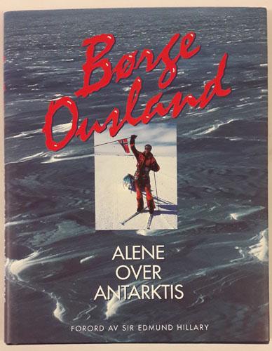 Alene over Antarktis.