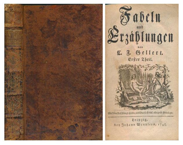 Fabeln und Erzählungen. I-II. (Medbundet): Lehrgedichte und Erzählungen.