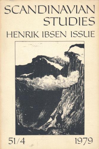 (IBSEN, HENRIK) Scandinavian Studies.  The Journal of the Society for the Advancement of Scandinavian Study.