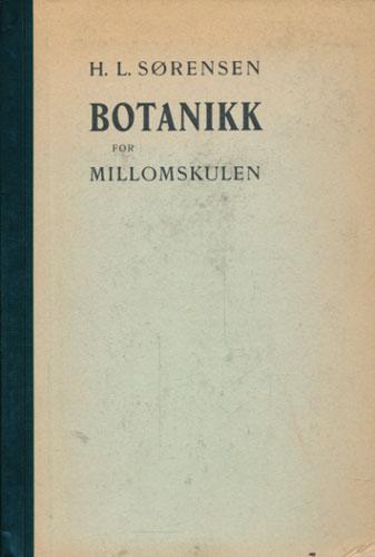 Lærebok i botanikk for millomskulen. Med 16 fargetavlor og mange bilete.
