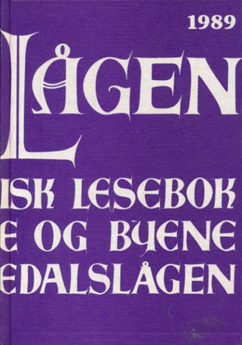 LANGS LÅGEN.  Lokalhistorisk lesebok for bygdene og byene langs Numedalslågen. 11. årgang.