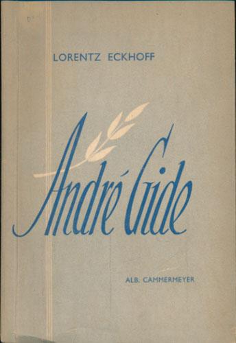(GIDE, ANDRÉ) André Gide.