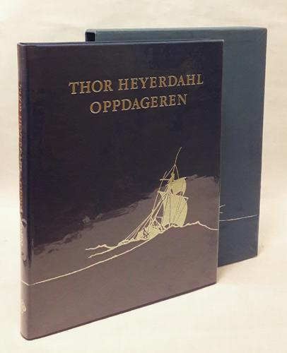 (HEYERDAHL, THOR) Thor Heyerdahl. Oppdageren.